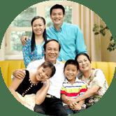 Người đã lập gia đình có nhu cầu bảo vệ sức khỏe + tài chính.