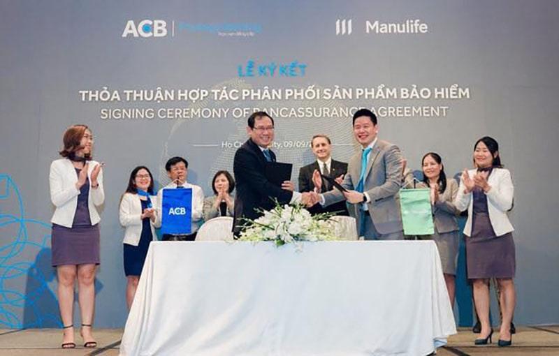 Bảo hiểm Manulife Việt Nam và ACB hợp tác phân phối bảo hiểm nhân thọ